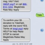 Haitian Earthquake Disaster, SMS/Text Message Donations and Cyber Criminals: A Perfect Combination