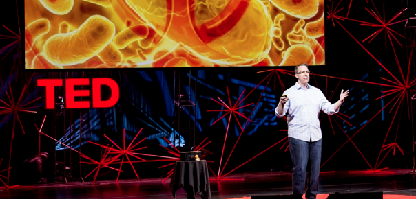 Speaking at TED Global